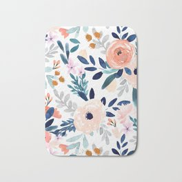 Jolene Floral Bath Mat