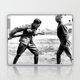 Bayonet Fighting Instruction Laptop & iPad Skin
