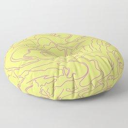 Pastel Pattern III Floor Pillow