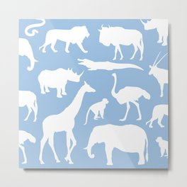 Safari animals Metal Print