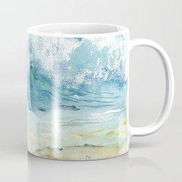 Ocean Waves Solana Beach Coffee Mug