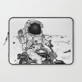 Moon Biker Laptop Sleeve