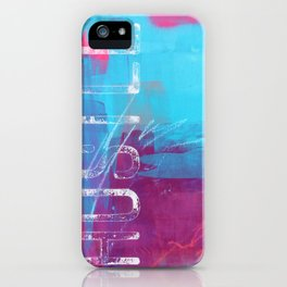 SEIZE THE MOMENT iPhone Case