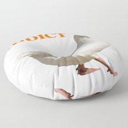 Strolling Duck Quack Addict Floor Pillow