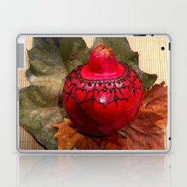 Henna Inspired Hand Painted Pomegranate  Laptop & iPad Skin