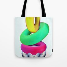 Dolphin Rings Tote Bag