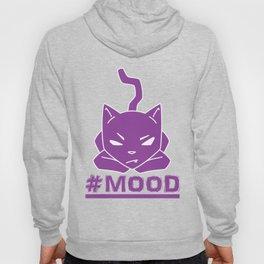 #MOOD Cat Purple Hoody