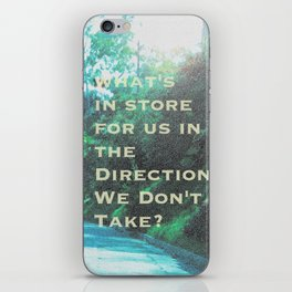 What Will Become of Us iPhone Skin