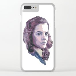 Hermione Clear iPhone Case