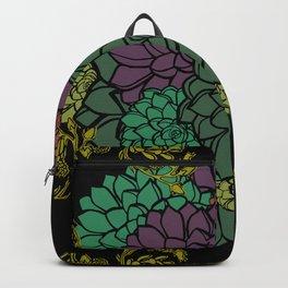 Echeveria In Bloom Backpack