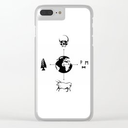 Anthropology: The Four Subdisciplines (Version 2.0) Clear iPhone Case