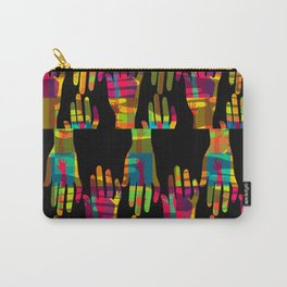 Hand made patchwork Carry-All Pouch