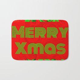 Merry Xmas 6 Bath Mat