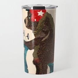 scooter bear Travel Mug