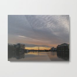 Dublin Morning Metal Print