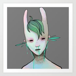 SPURT Art Print