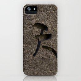 Zen Garden Rock iPhone Case