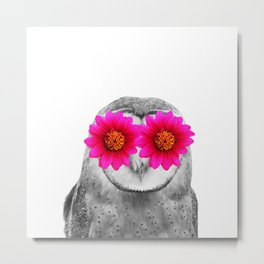Owl Eyes Metal Print