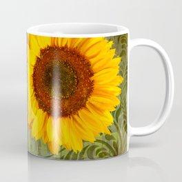 Sunflower Garden floral art Coffee Mug
