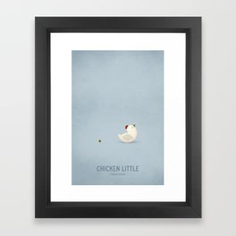 Chicken Little Framed Art Print