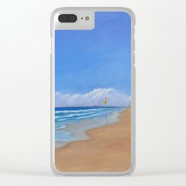 All to myself Clear iPhone Case