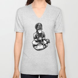 Hanuman Yoga Unisex V-Neck