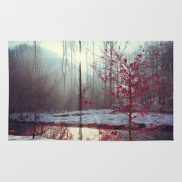 Winter Tree Rug
