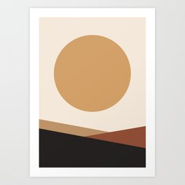 NUOVO GIORNO - the NEW DAY - Modern abstract art Art Print
