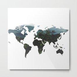 World of Nature Metal Print