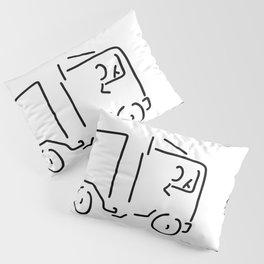 occupational motorist truck driver Pillow Sham