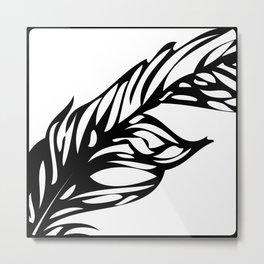 STATIONERY CARD - Flow Metal Print
