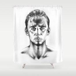 Tom Hiddleston 3 Shower Curtain