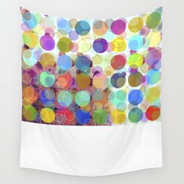 Colorful Dots No. 1 Wall Tapestry