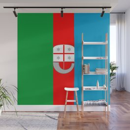 flag of liguria Wall Mural