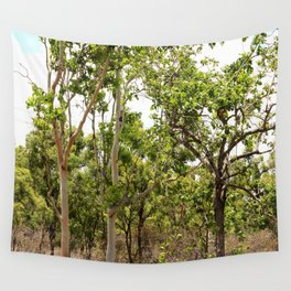 Beautiful forest regrowth Wall Tapestry