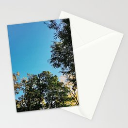 A Blue Fall Day Stationery Cards