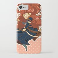 merida iPhone & iPod Cases featuring Merida by Schewy