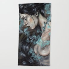 Smoked Beach Towel