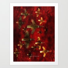 SWARM 004 Art Print