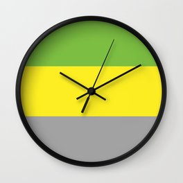 Lithromantic Flag Wall Clock