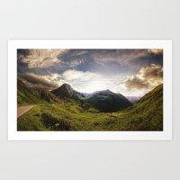 switzerland Art Prints featuring Switzerland by neb3