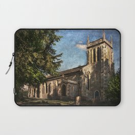 St Nicholas Church Sulham Laptop Sleeve