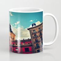 madrid Mugs featuring Madrid Sky by Melanie Ann