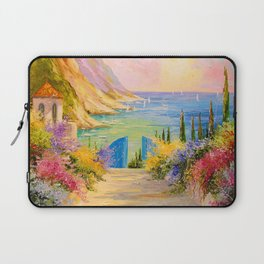 Road to the sea Laptop Sleeve