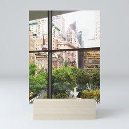 115. Room with view, New York Mini Art Print