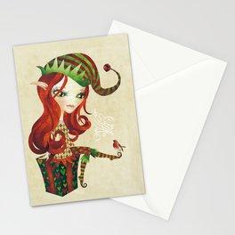 Elfie Elf Stationery Cards