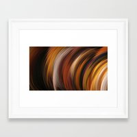 the strokes Framed Art Prints featuring Strokes by Andi GreyScale
