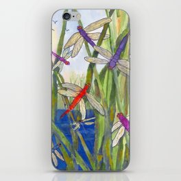 Dragonfly Summer iPhone Skin