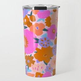 Ava Floral Travel Mug