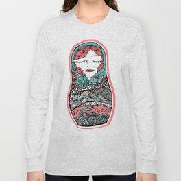 Sleeping Matrioska Long Sleeve T-shirt